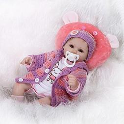 Nicery Reborn Baby Doll Soft Simulation Silicone Vinyl Cloth