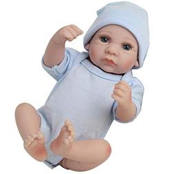 Bulges Reborn Baby Doll Kids Toys Soft Silicone Lifelike Rea