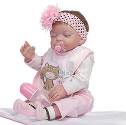Lilith 22 inches 55cm Reborn Baby Dolls Silicone Full Body G
