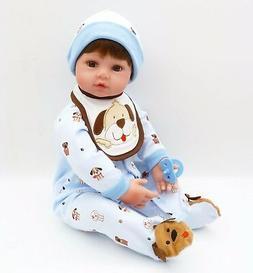 "Reborn Toddler Doll Girl Boy 24"" Handmade Vinyl Baby Lifelik"