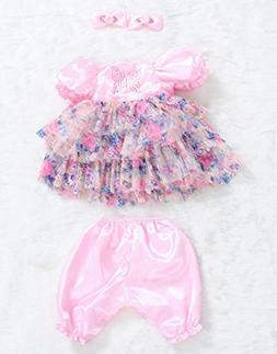 PURSUEBABY 24 Inch Reborn Toddler Girl Doll Clothes, Dancing