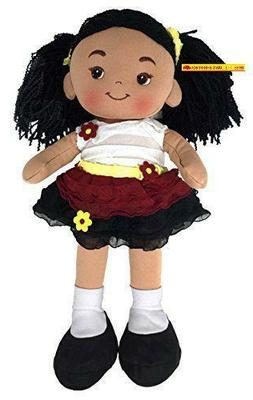 Red'S Toy Shop Nadia Fabric Rag Doll - 16 Inch