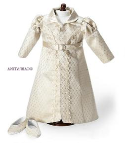 "CARPATINA Regency Redingote & Shoes Doll Clothes fits 18"" Am"