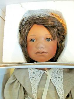 """Reitte"", Berdine Creedy Porcelain/Cloth Doll, #270/1000 pcs"