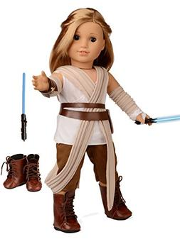 Sweet Dolly Doll Clothes Rey Inspired Doll Costume for 18 in