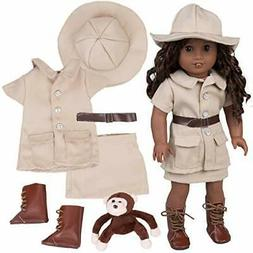 Safari Outfit Categories For American Girl - Great 6pcs Hall