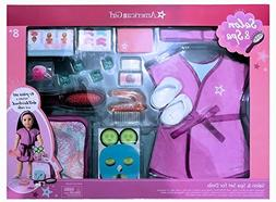 American Girl Salon & Spa -41 Piece Set Includes a doll hair