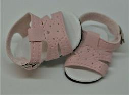 Sandals Pink for Paola Reina Wellie Wishers Doll Shoes Acces
