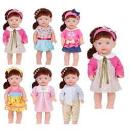 Huang Cheng Toys Set of 6 For 14-15 Inch Alive Lovely Baby Doll Clothes Outfits