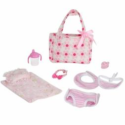 Huang Cheng Toys Set Of 9 Doll Clothes Accessories Doll Paci