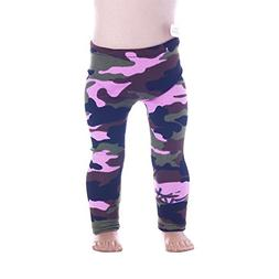Set of 8pcs Printed leggings for Dolls - Leggings for 18 inc