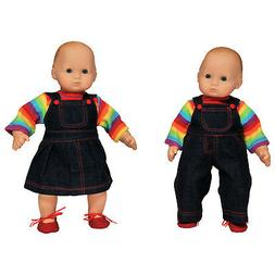 The Queen's Treasures Set of Two 15 inch Doll Clothes for Bi