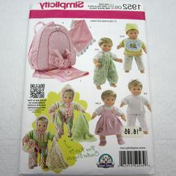 Simplicity Sew Your Own 15 Doll Starter Set-One Size