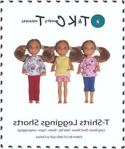 """Sewing Pattern for Chelsea 5.5"""" Barbie Doll Clothes by TKCT"""