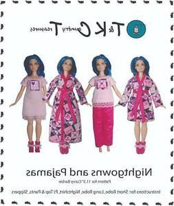 Sewing Pattern designed for Curvy  Fashion Fashionista Doll