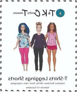 sewing pattern for curvy barbie fashionista doll