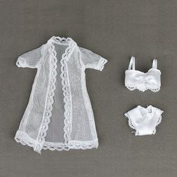 Sexy Doll Accessories Pajamas Lingerie Bra+Underwear Clothes