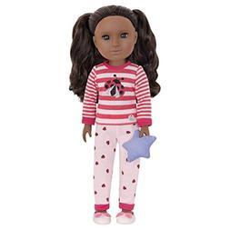 Glitter Girls by Battat - Ladybug Shimmer Pajama Top & Pant