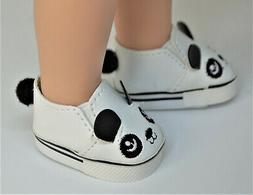 Shoes Panda for 14 in Wellie Wishers Doll American Girl Acce