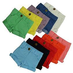 Set of 10 Short Doll Pants - Doll Shorts fits 18 inch Dolls