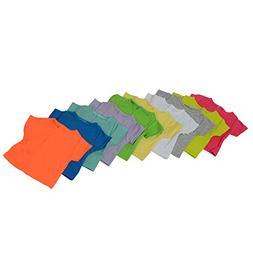 Short Sleeve Solid Colors T-Shirt for Dolls - Set of 10 - Li