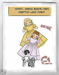 Sisters dolls Upside Down - Topsy Turvy Rag Doll - Cloth Pat