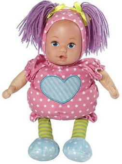 Snuggletime Baby Pink Dots, Adora Doll, 13 in. Cloth  w/Viny