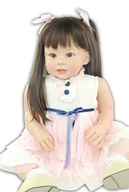 """Terabithia 28"""" Soft Touch-Activated Lifelike Change Clothes"""