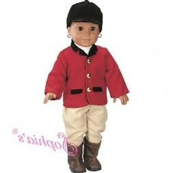 "Sophia's® 18"" Doll Clothes 4-Piece Horse Riding Outfit fits"