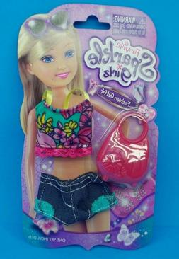 "NEW! FUNVILLE SPARKLE GIRLZ FASHION OUTFIT 12"" DOLL CLOTHES"