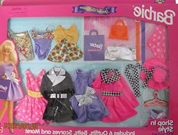BARBIE Special Collection SHOP In STYLE FASHIONS w 6 EASY to