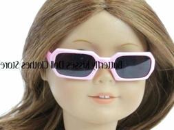 "Square Pink Sunglasses 18"" Doll Clothes Accessory Fits Ameri"