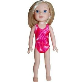 """Swimsuit Doll Clothes for 14"""" Wellie Wishers dolls by TKCT p"""