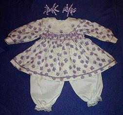 tagged dress plus pantalettes for big 22