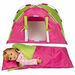 Dress Along Dolly Doll Tent w Sleeping Bag American Girl oth