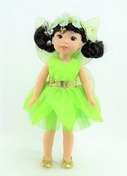 """Tinker Bell Fairy Outfit 