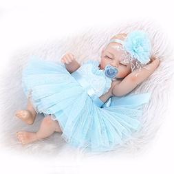 Pinky Lifelike 26cm 10 Inch Mini Reborn Baby Dolls Full Body