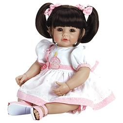 "Adora Toddler Doll Let`s Celebrate, Baby 20"" Girl Weighted D"