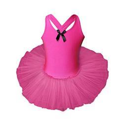 WensLTD Toddler Baby Girls Gauze Leotards Ballet Bodysuit Da