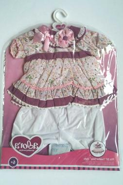 Adora ToddlerTime Floral Dress Outfit for 20 inch Dolls New