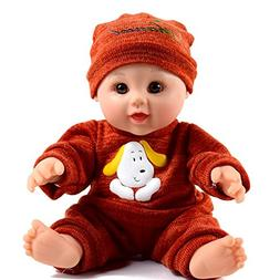 TUSALMO 12 inches Toy Baby Dolls for Kids and boy,Kids Hol