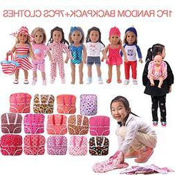 ZWSISU Toys American Girl 18inch Doll Clothes - Wardrobe Mak