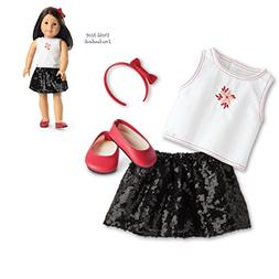 American Girl Truly Me Sequin Skirt Outfit for 18 Inch Dolls