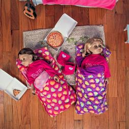 TWO 18 Inch Doll SLEEPING BAG   Fits American Girl Accessori