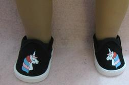 Unicorn Shoes fit Girl Doll 18 Inch Clothes Seller lsful