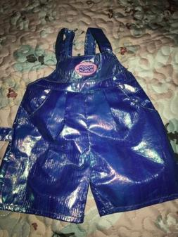 """VINTAGE KENNER 1985 HUGGA BUNCH 18/"""" DOLL JUMPER OVERALLS Outfit Doll Clothes"""