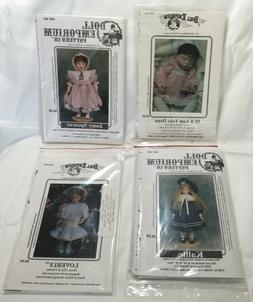 Vintage Doll Emporium Clothing Patterns 14 19 20 24 Inch Dol