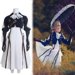 Violet Evergarden Auto Memory Doll Cosplay Party Costume Dre
