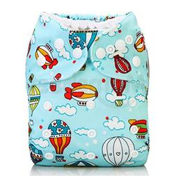 Washable Baby Cloth Diaper Cover Waterproof Cartoon Owl Baby
