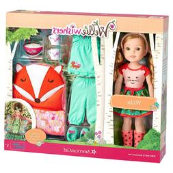 American Girl WellieWishers Doll And Accessories Set, Willa